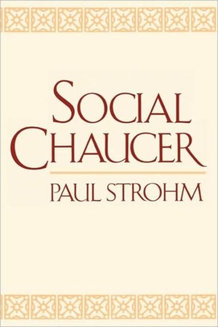 Social Chaucer (Paper) chaucer s language