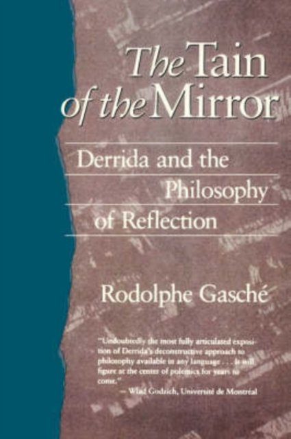 The Tain of the Mirror – Derrida & the Philosophy of Reflection (Paper) the mirror test