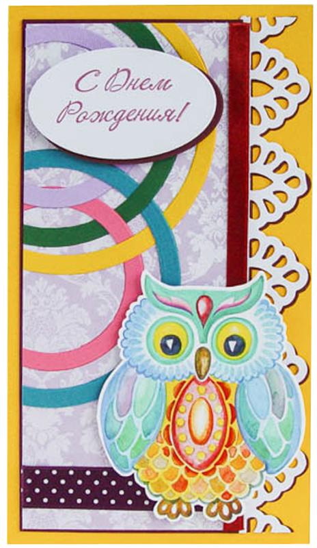 Конверт-открытка Студия Тетя роза Сова. ОД-0012ОД-0012
