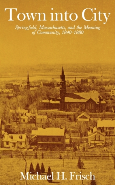 Фото Town into City – Springfield, Massachusetts, and the Meaning of Community, 1840–1880