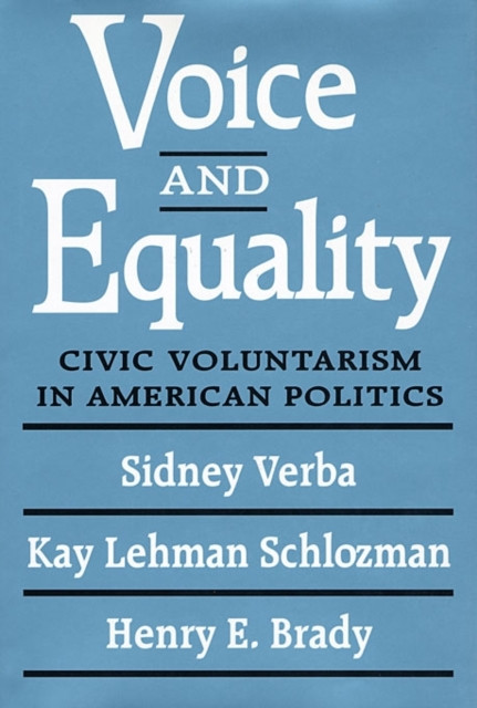 Voice & Equality – Civic Voluntarism in American Politics (Paper)