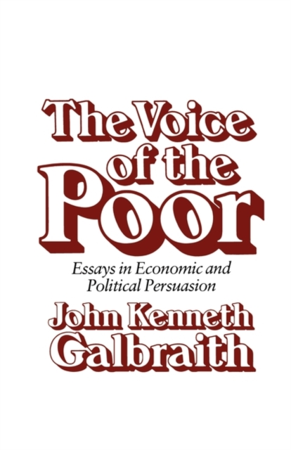 The Voice of the Poor – Essays in Economic & Political Persuasion (Paper) the poor in search of shelter