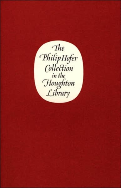 The Philip Hofer Collection in the Houghton Library купить недорого в Москве