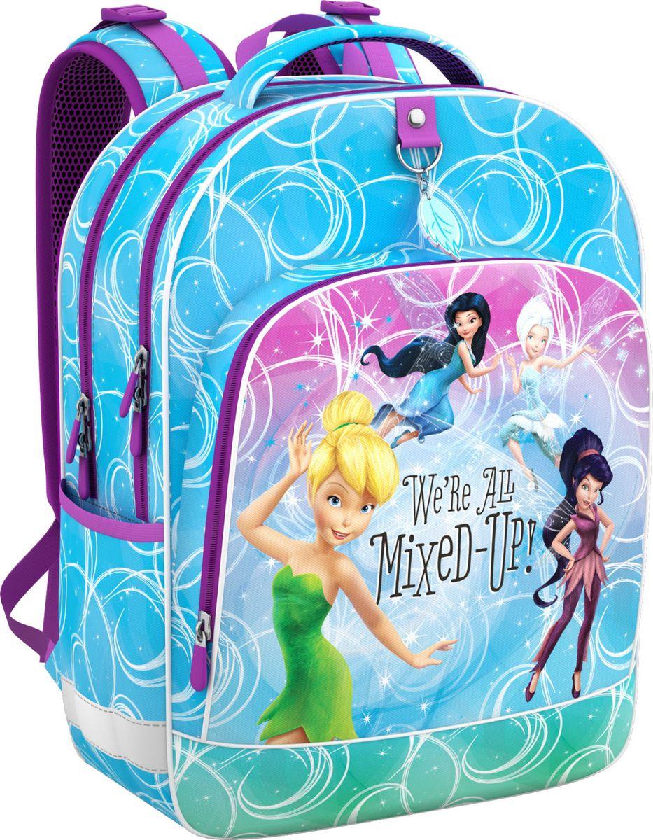 Disney Ранец школьный Феи Цветочная вечеринка росмэн школьный ранец бирюза феи диснея