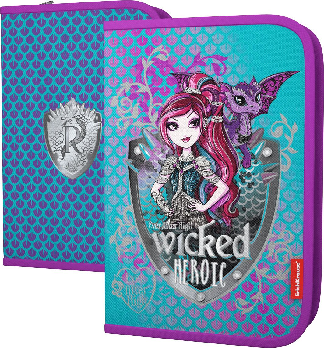 Mattel Пенал Ever After High Dragon Game пеналы mattel пенал 1 отделение узкий mattel ever after high серебр роз наполненный