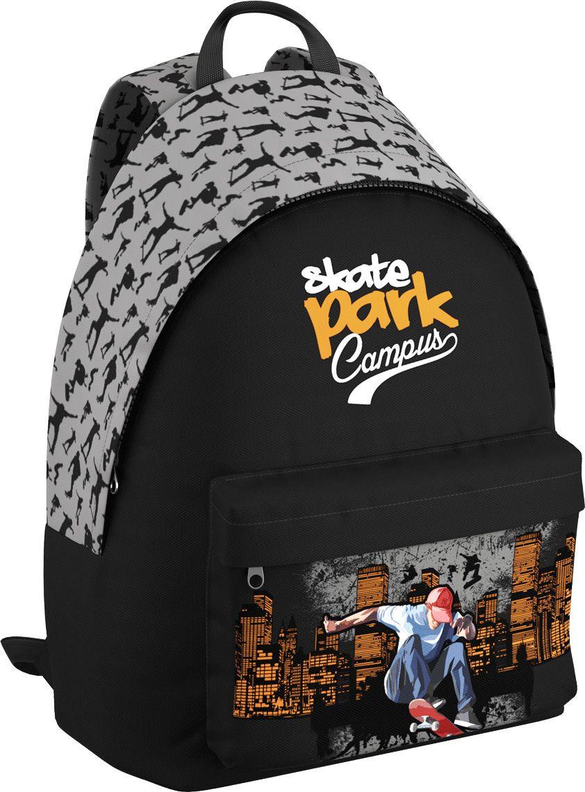 Erich Krause Рюкзак Skate EasyGo42476Рюкзак Erich Krause Skate EasyGo - это легкий и компактный городской рюкзак, выполненный из водонепроницаемого материала.Рюкзак содержит одно вместительное отделение и закрывается на молнию. В отделении предусмотрен органайзер.На внешней стороне рюкзака расположен большой накладной карман, закрывающийся на застежку-молнию.Изделие оснащено широкими лямками, регулируемыми по длине и удобной ручкой для переноски в руке.
