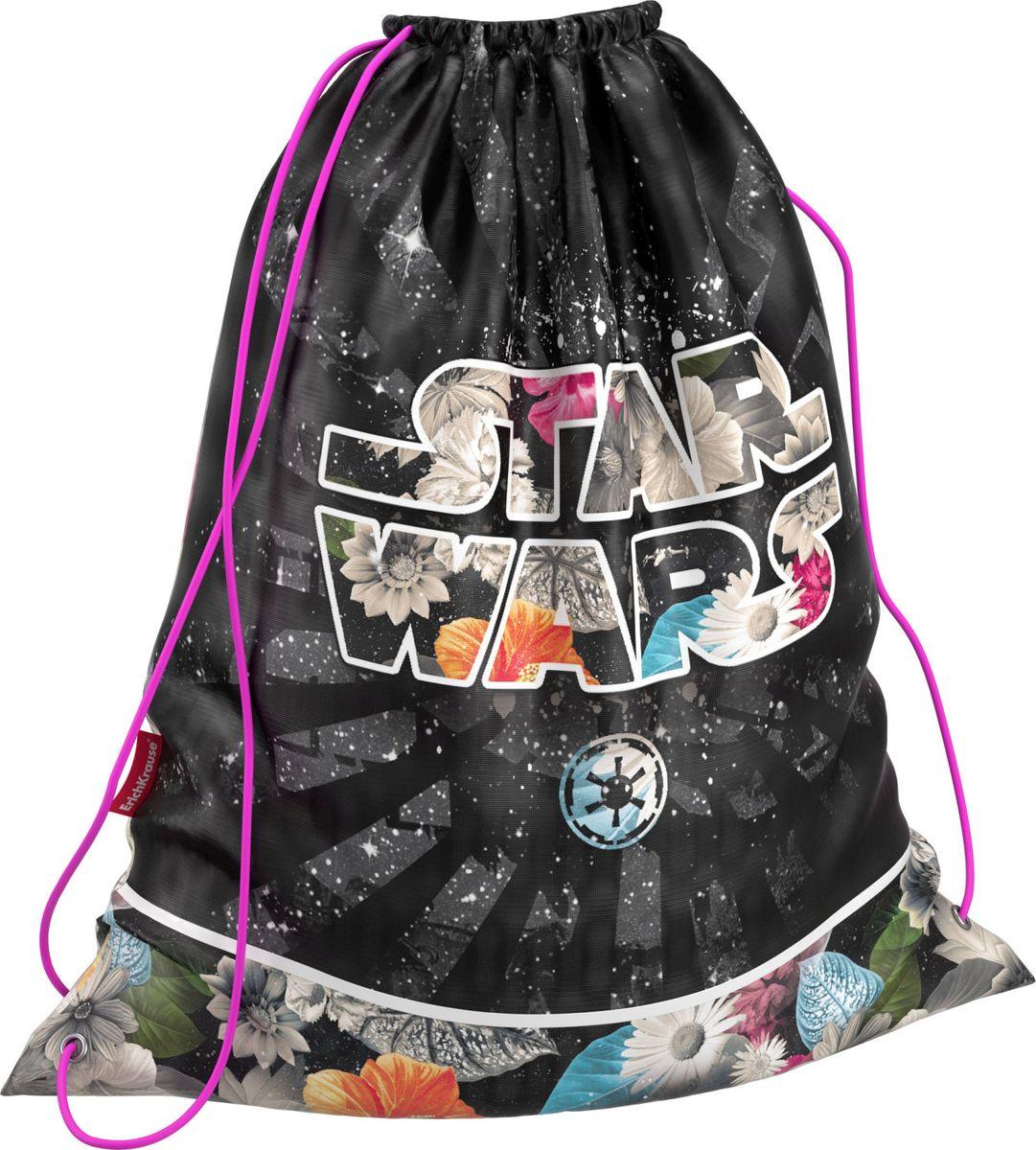 Star Wars Сумка для сменной обуви Звездные Войны Вселенная42503Сумка для сменной обуви выполнена из водонепроницаемого материала.Размер 44 x 35 см.