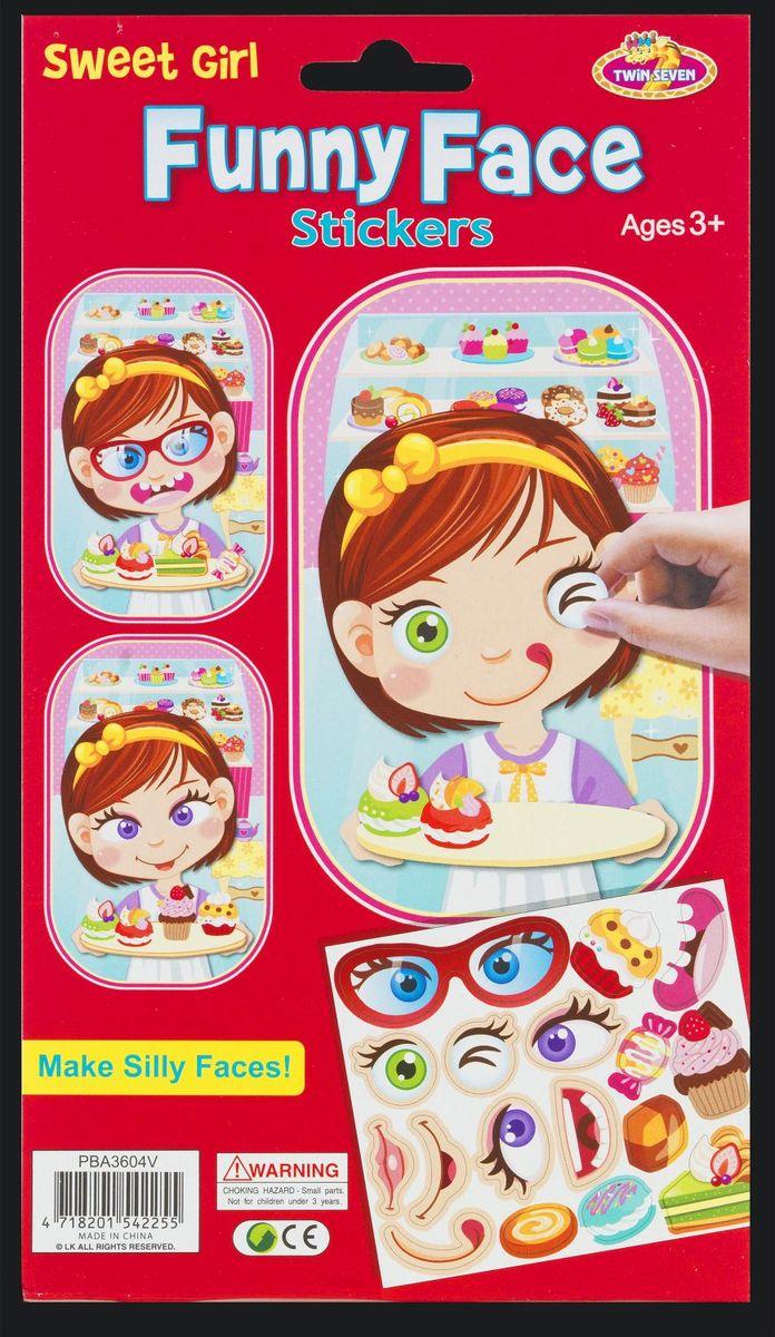 Набор состоит из картонного основания в виде головы девочки и объемного трафарета с различными наклейками в виде глаз и рта. С их помощью ребенок сможет легко создать своего уникального забавного персонажа. Наклейки можно использовать неоднократно. Набор предназначен для развития мелкой моторики и творческого потенциала детей.