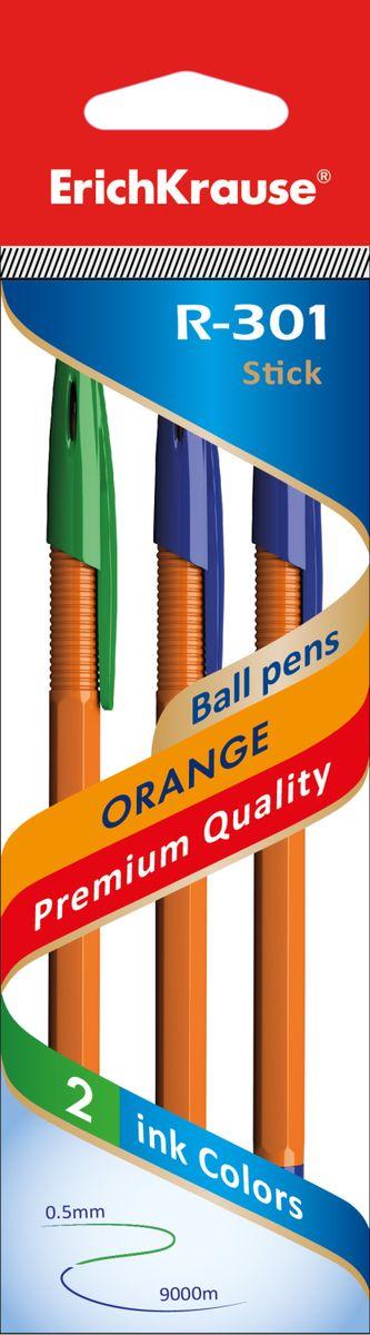 Erich Krause Набор шариковых ручек R-301 Orange 0.7 Stick 3 шт 4274642746Набор из трех ручек. Шариковая ручка в оранжевом корпусе. Цвет вентилируемого колпачка соответствует цвету чернил. Пишущий узел 0. 7 мм.Толщина линии 0. 35 мм. Длина письма 1000 м.