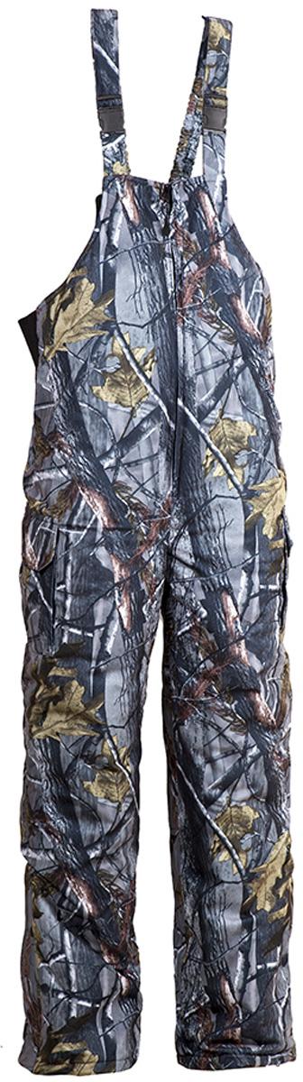Костюм рыболовный мужской HUNTSMAN Памир:  куртка, полукомбинезон, цвет:  серый лес.  pr_200-093.  Размер 44/46, рост 170