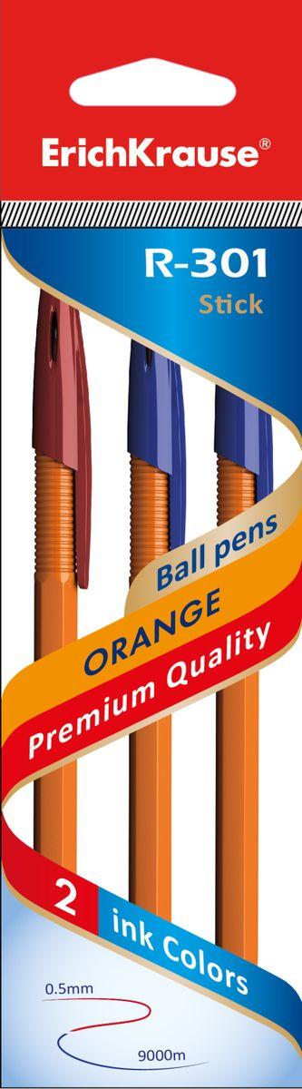 Erich Krause Набор шариковых ручек R-301 Orange 0.7 Stick 3 шт 4274542745Набор из трех ручек. Шариковая ручка в оранжевом корпусе. Цвет вентилируемого колпачка соответствует цвету чернил. Пишущий узел 0. 7 мм.Толщина линии 0. 35 мм. Длина письма 1000 м.