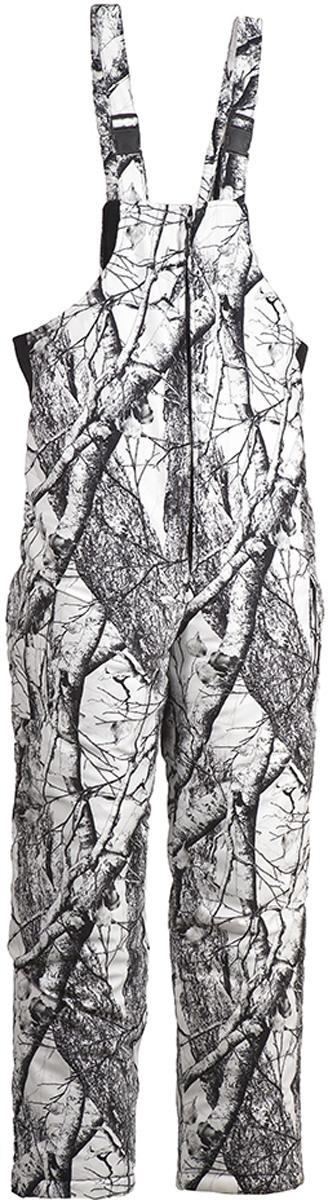 Костюм рыболовный мужской HUNTSMAN Памир:  куртка, полукомбинезон, цвет:  белый лес.  pr_200-021.  Размер 44/46, рост 170