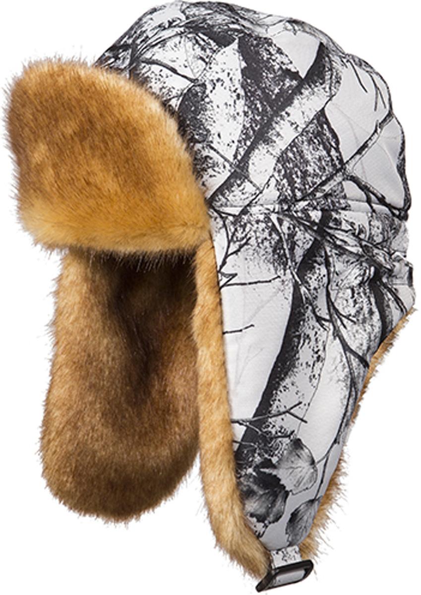 Шапка мужская HUNTSMAN Белка, цвет: белый лес. he_100-021. Размер 55/56he_100-021Шапка-ушанка Белка от Huntsman выполнена из плотного материала Сat's eye с отделкой из искусственного меха. Подкладка из мягкого флиса и утеплитель Radotex (150 гр/м2) защитят вашу голову и уши от холода и ветра даже в самых суровых климатических условиях.