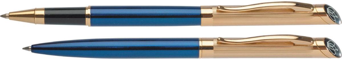 Erich Krause Набор ручек Regal 124 1475014750Представительские подарочные наборы. Шариковая и роллерная ручки - в подарочном футляре.