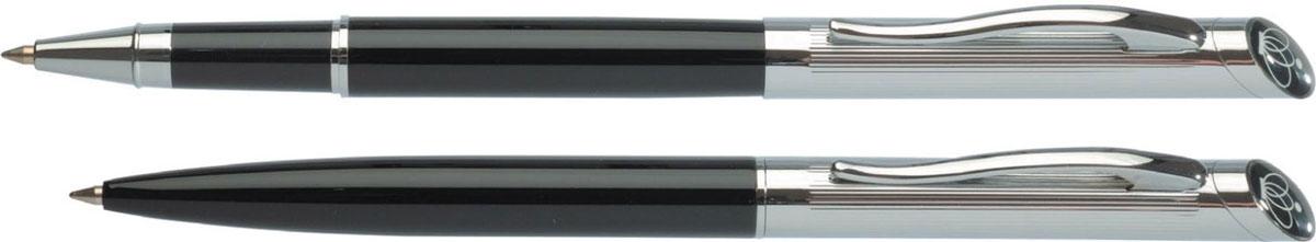 Erich Krause Набор ручек Regal 124 1475114751Представительские подарочные наборы. Шариковая и роллерная ручки - в подарочном футляре. Н