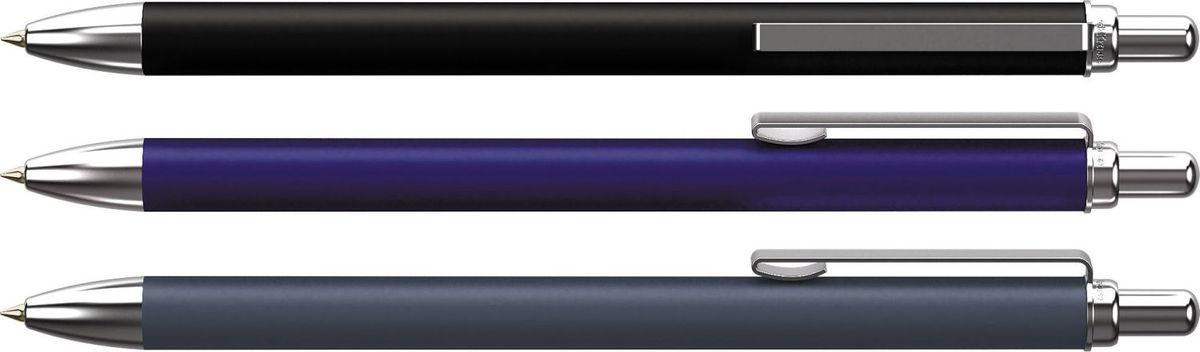 Erich Krause Ручка шариковая Smart RT-300 черная 28304Erich KrauseСтильная автоматическая шариковая ручка с нажимным механизмом. Лаконичный дизайн «без излишеств», мягкое, нескользящее покрытие корпуса «soft touch», самые популярные цвета – оптимальное решение для любителей комфортного и долгого письма. Современный дизайн клипа и кнопки гармонично завершает стилистически выдержанный образ. Цвет корпуса- черный, цвет чернил-синий. Пишущий узел 1. 0 мм. Рекомендуется использовать стержень ErichKrause.Индивидуальная упаковка представлена в двух вариантах – коробочка и блистер.