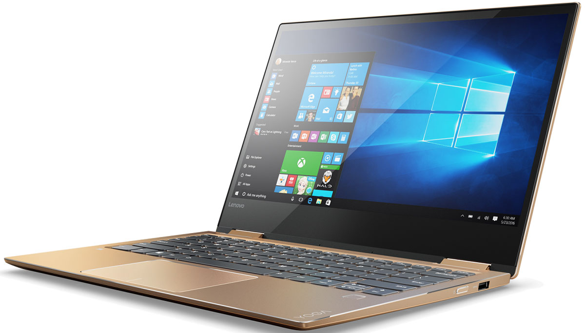Lenovo Yoga 720-13IKB, Copper (80X6000ARK) - Ноутбуки