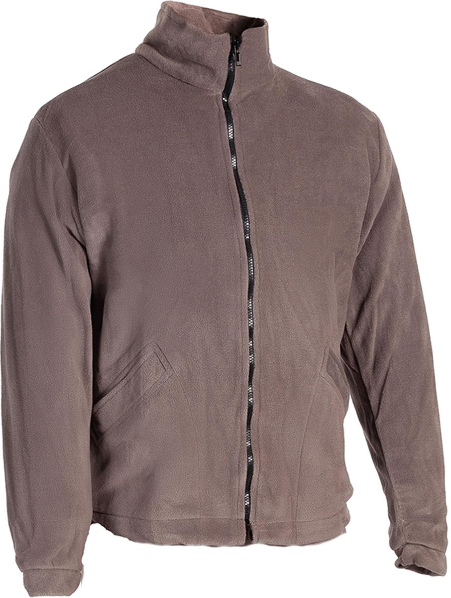 Куртка рыболовная мужской HUNTSMAN Байкал, цвет: серый. bl_200_k-974. Размер 60/62, рост 188bl_200_k-974Куртка флисовая Куртка на молнии, воротник-стойка, утяжки по низу, 2 кармана Тк. Polar Fleece 270 гр/м2