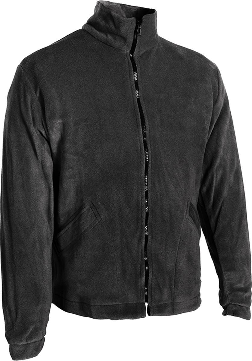 Куртка рыболовная мужской HUNTSMAN Байкал, цвет: черный. bl_200_k-901. Размер 56/58, рост 182bl_200_k-901Куртка флисовая Куртка на молнии, воротник-стойка, утяжки по низу, 2 кармана Тк. Polar Fleece 270 гр/м2