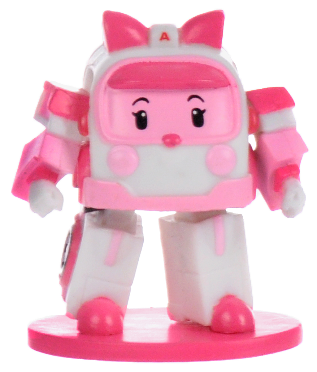 Robocar Poli Мини-фигурка цвет розовый origami robocar poli 160а 5700