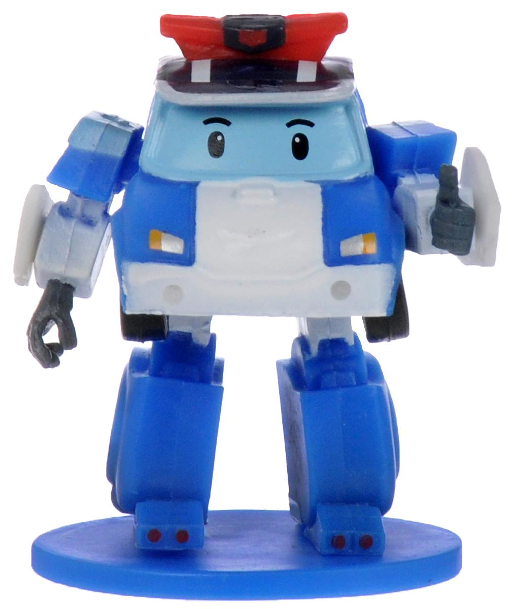 Robocar Poli Мини-фигурка цвет синий кейс для трансформера robocar poli поли