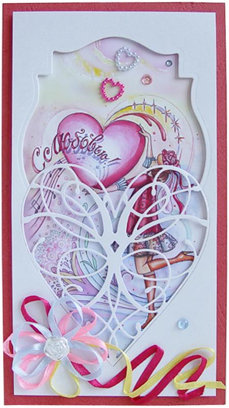 Конверт-открытка Студия Тетя роза С любовью. ОВЛ-0020ОВЛ-0020