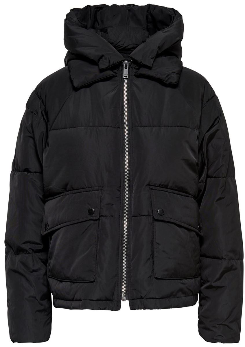 Куртка женская Only, цвет: черный. 15140836_Black. Размер XS (40/42) куртка женская only цвет черный 15140836