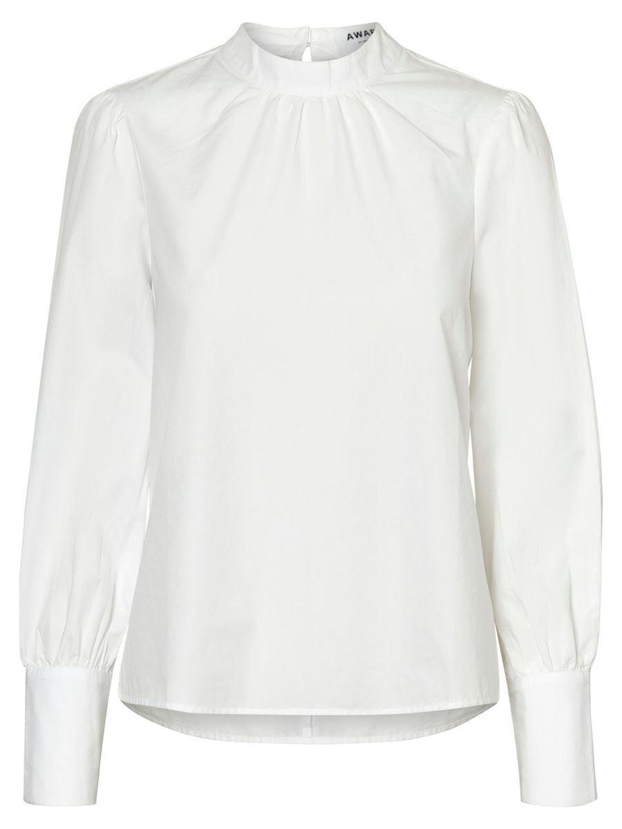 Блузка женская Vero Moda, цвет: белый. 10184800_Snow White. Размер S (42/44)10184800_Snow White