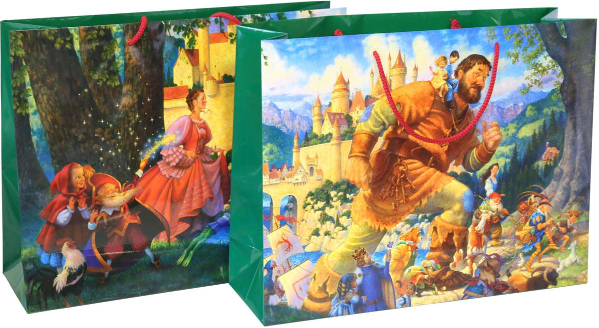 Пакет подарочный Счастливы навек, 45 х 35 х 14 см пакет подарочный правила успеха щелкунчик 30 х 38 см