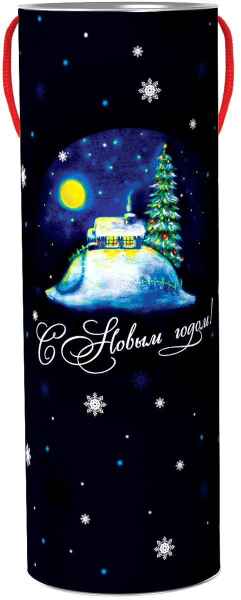 Тубус новогодний Праздничные вечера 12*35 см4610009211299
