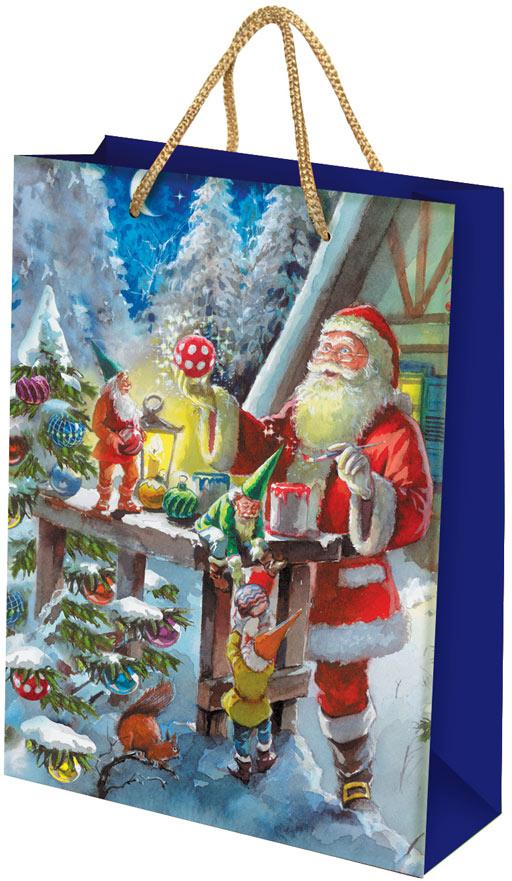 Пакет подарочный Правила Успеха Творцы чудес, 25 x 35 x 9 см4610009214801Упаковку хочется держать в руках и рассматривать детали картины. Подарки в этой упаковке будет смотреться роскошно и благородно.Глиттерный лак (блёстки) и глянцевое покрытие придаёт дизайну поистине новогодний вид.