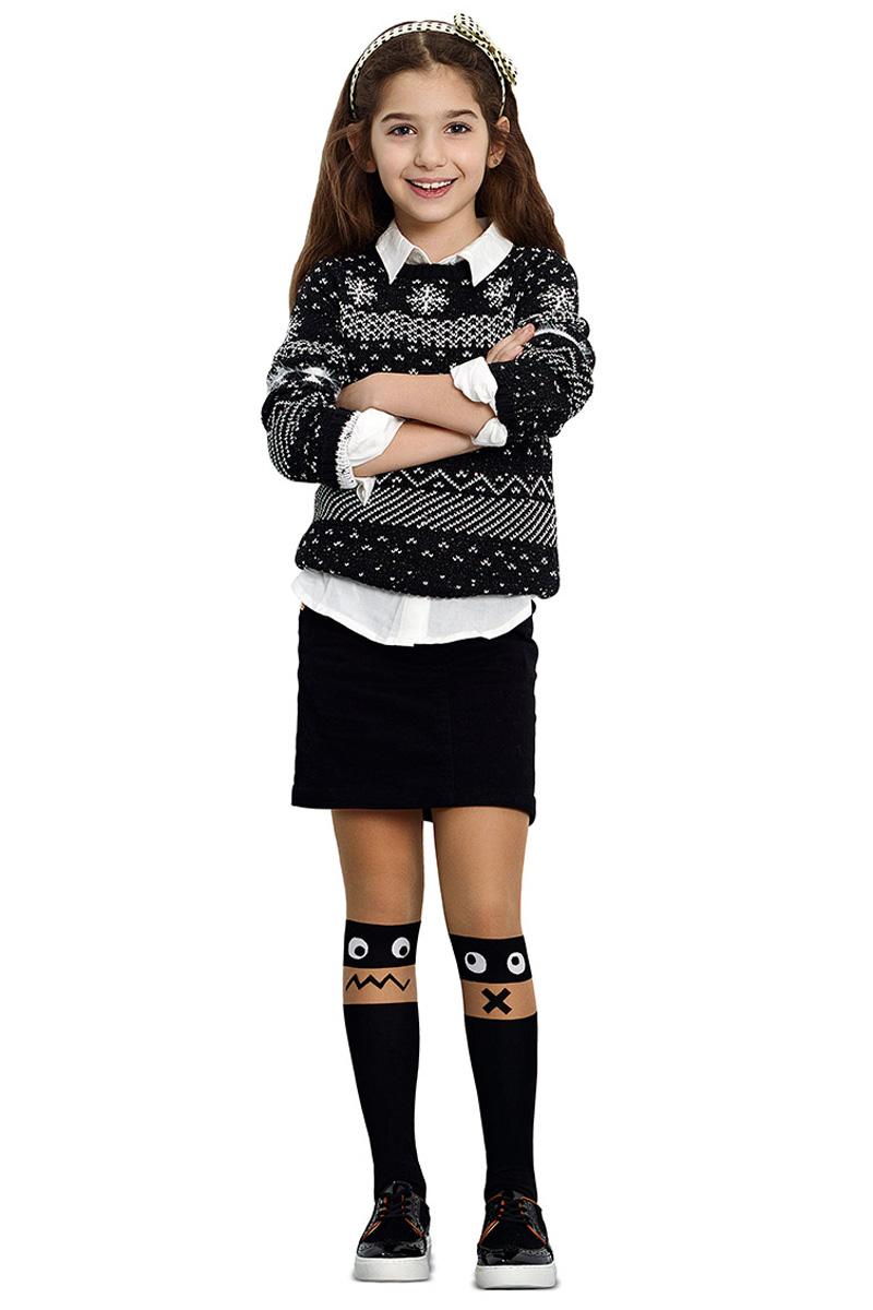 Колготки для девочки Penti Mood, цвет: черный. m0c0327-0200 PNT_500. Размер 5 (140/146) колготки для девочки penti pamuk цвет синий m0c0327 0211 pnt 66 размер 5 140 156