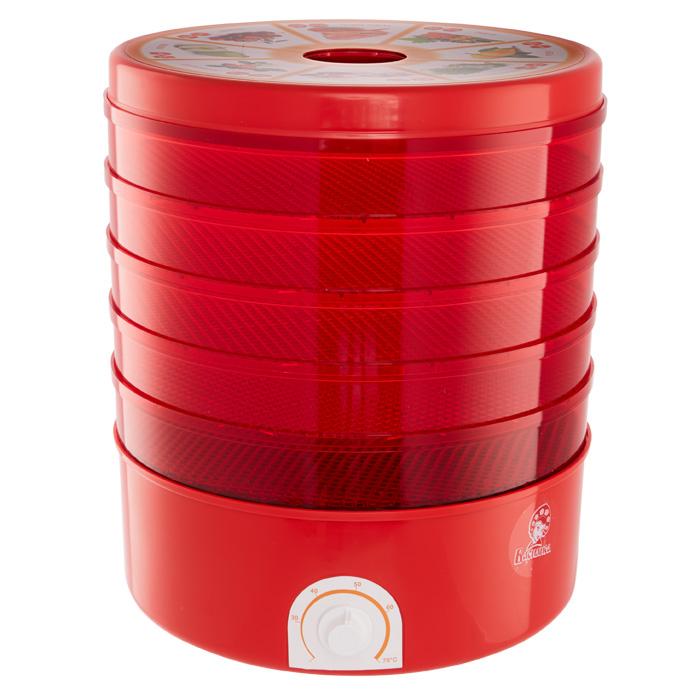 Василиса СО3-520, Red сушилка для овощей и фруктов сушилка для овощей ротор сш 002