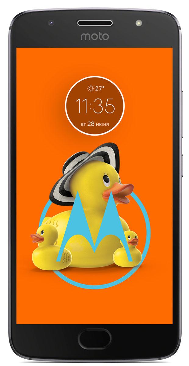 Motorola Moto G5S, Gray (XT1794)PA7W0006RUMotorola Moto G5S имеет стильный, полностью металлический цельный корпус, изготовленный с высокой точностью из цельного куска высококачественного алюминия. С алмазной огранкой и тщательно отполированный для создания безукоризненной поверхности, он потрясающе красив и прочен, как никогда. Пользуйтесь телефоном без подзарядки еще дольше с батареей 3000 мАч, заряда которой хватает на весь день. Когда приходит время подзарядки, не останавливайтесь. Входящее в комплект поставки зарядное устройство TurboPower позволяет зарядить телефон всего за 15 минут так, чтобы он работал от батареи до 5 часов.Основная камера телефона Moto G5S с высоким разрешением 16 МП имеет систему фазовой автофокусировки (PDAF), которая позволяет мгновенно сфокусировать 200000 пикселов на выбранном объекте. Вы никогда не упустите кадр. Кроме того, профессиональный режим дает вам больше контроля над такими параметрами, как баланс белого и скорость затвора. А функция лучшего снимка автоматически выбирает лучший кадр из серии и сохраняет его. Когда нужно сделать групповое селфи, широкоугольная фронтальная камера 5 МП с новой светодиодной вспышкой качественно запечатлеет каждого при любом освещении. Включите режим украшения для еще более великолепных селфи.Наслаждайтесь любимыми развлечениями в ярких цветах и мельчайших деталях на дисплее Full HD диагональю 5,2 дюйма. Благодаря восьмиядерному процессору Qualcomm Snapdragon частотой 1,4 ГГц, мощным графическим характеристикам и поддержке скорости 4G вы можете быстро отображать веб-страницы, а также воспроизводить потоковую музыку и видео без задержек. Кроме того, когда вы находитесь в дороге, брызгозащитное покрытие и экран Corning Gorilla Glass защищают ваш телефон от непогоды.Можете забыть свой пароль. С Moto G5S отпечаток вашего пальца разблокирует ваш телефон и ваш кошелек. Оплачивайте покупки с помощью мобильного телефона у продавцов, поддерживающих эту возможность, без необходимости ввода пароля.Новая нави