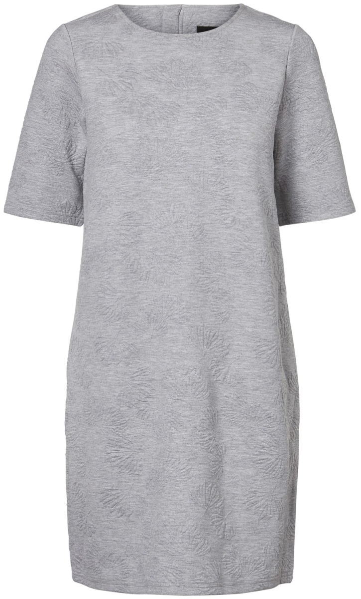 Платье Vero Moda, цвет: серый. 10186351_Light Grey Melange. Размер XS (40/42) свитшот vero moda 10191762 light grey melange