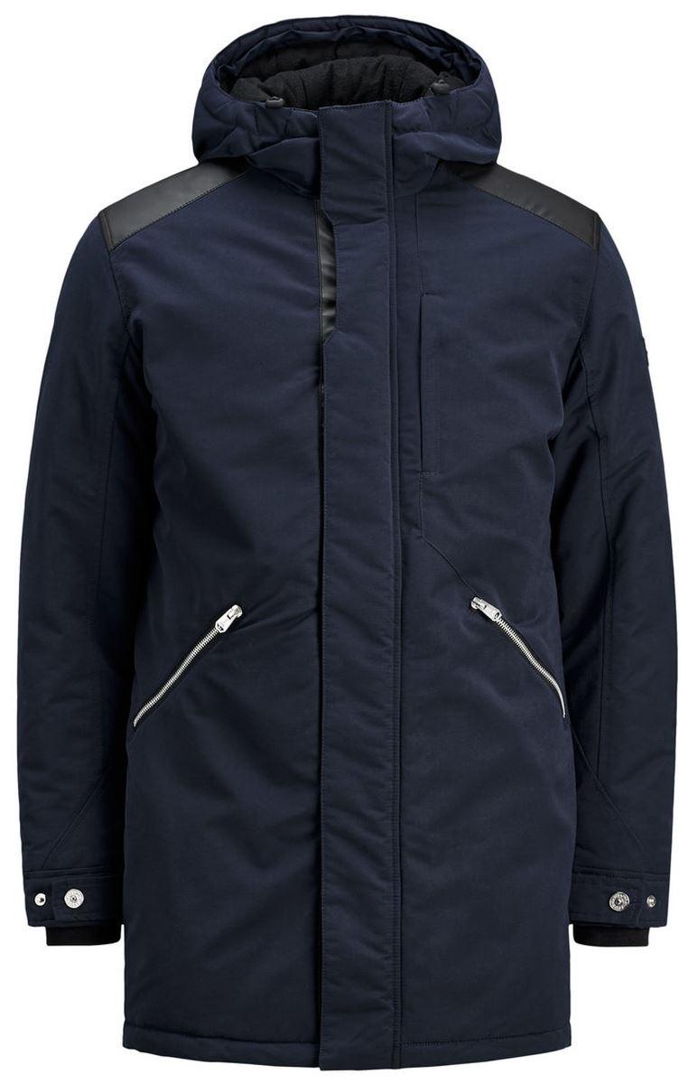 Куртка муж Jack & Jones, цвет: синий. 12124262_Sky Captain. Размер L (48/50)12124262_Sky Captain