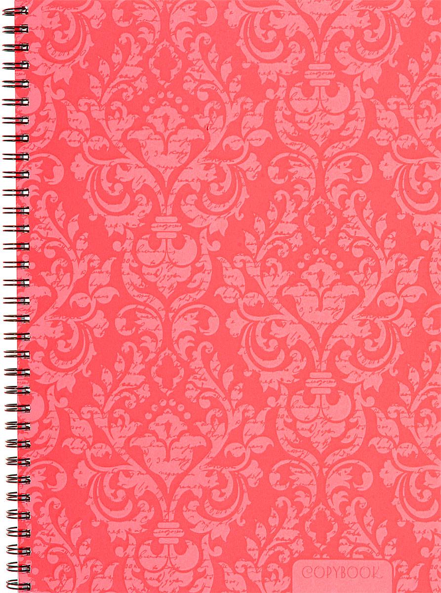 Канц-Эксмо Тетрадь Неоновые узоры в клетку 80 листов цвет розовый формат А4 тетради канц эксмо темно красная а5 200листов тетради с пластиковой обложкой