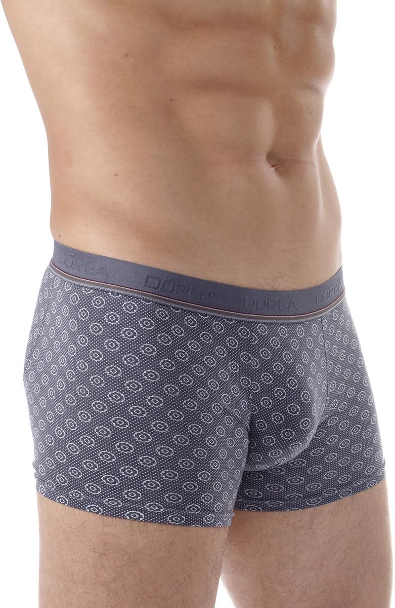 Трусы-боксеры мужские Dorea, цвет: серый. 5005-2. Размер XL (50/52) все цены
