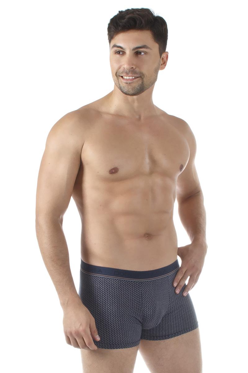 Трусы-боксеры мужские Dorea, цвет: синий. 5005-1. Размер XL (50/52) все цены