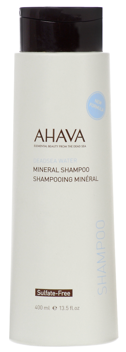 Ahava Deadsea Water М Минеральный шампунь 400 мл скрабы и пилинги ahava deadsea water mineral body exfoliator объем 200 мл
