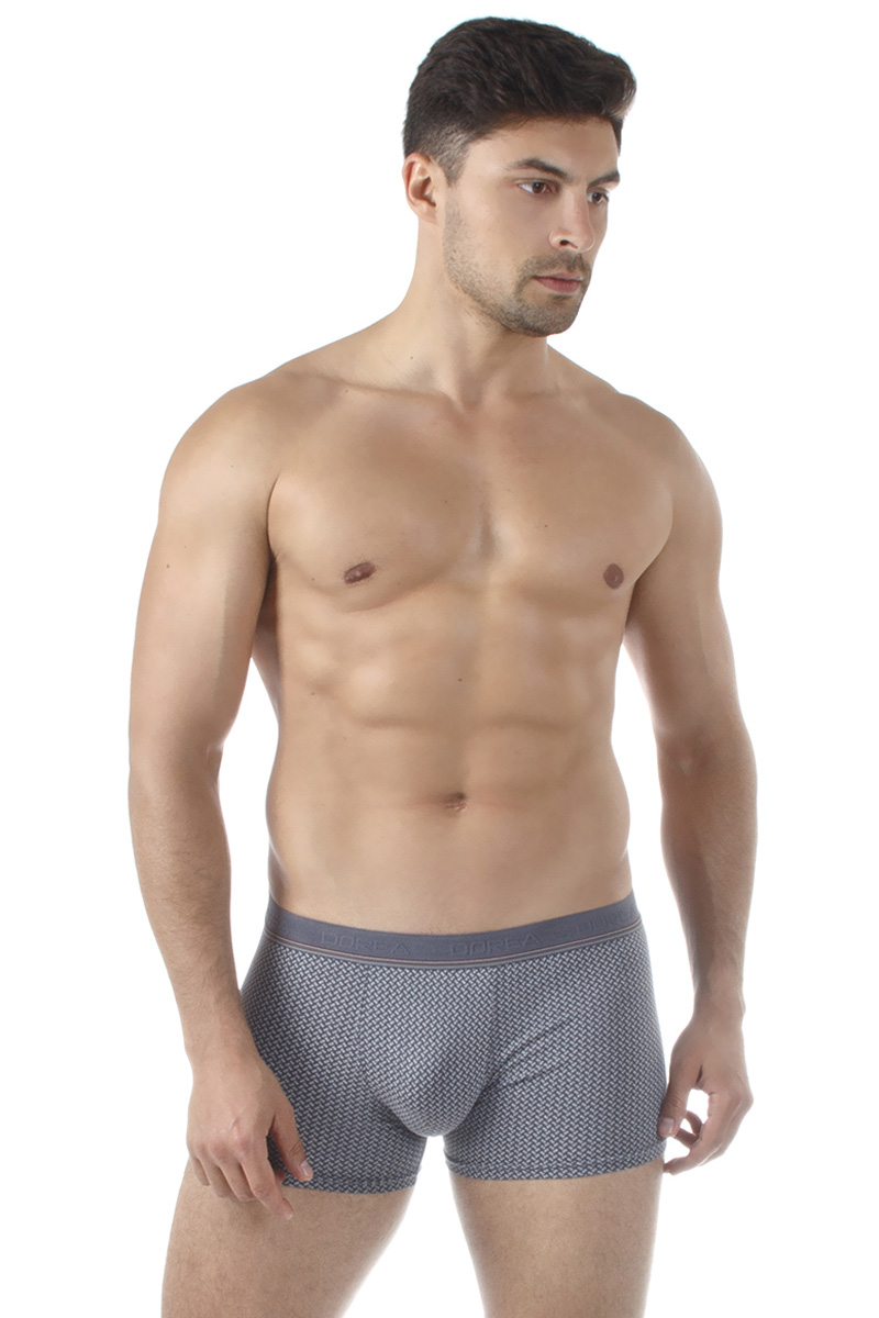 Трусы-боксеры мужские Dorea, цвет: серый. 5005-1. Размер XL (50/52) все цены
