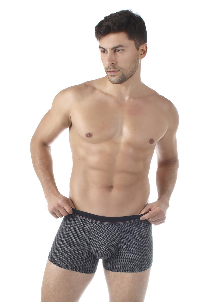 Трусы-боксеры мужские Dorea, цвет: черный. 5005-1. Размер XL (50/52) все цены