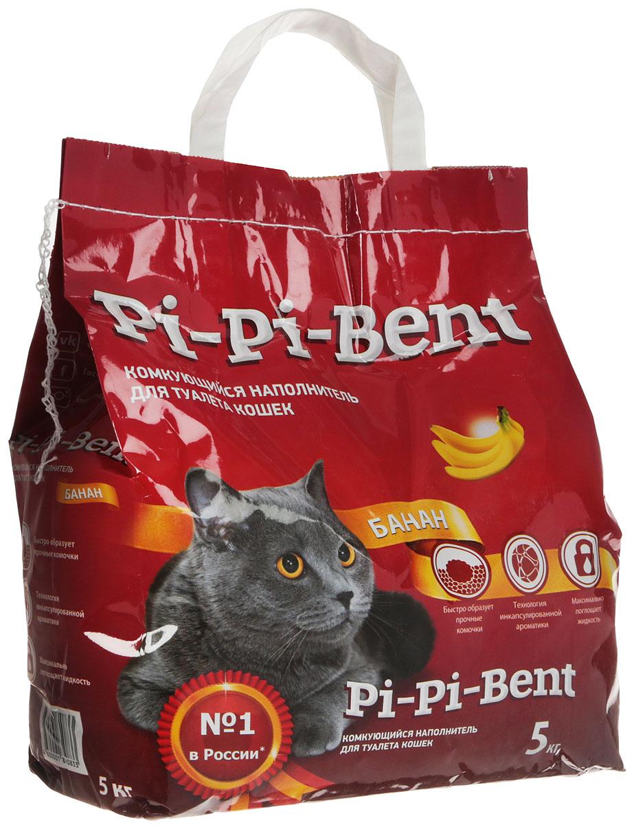Наполнитель для кошачьего туалета Pi-Pi-Bent Банан, 5 кг купить orange pi в москве