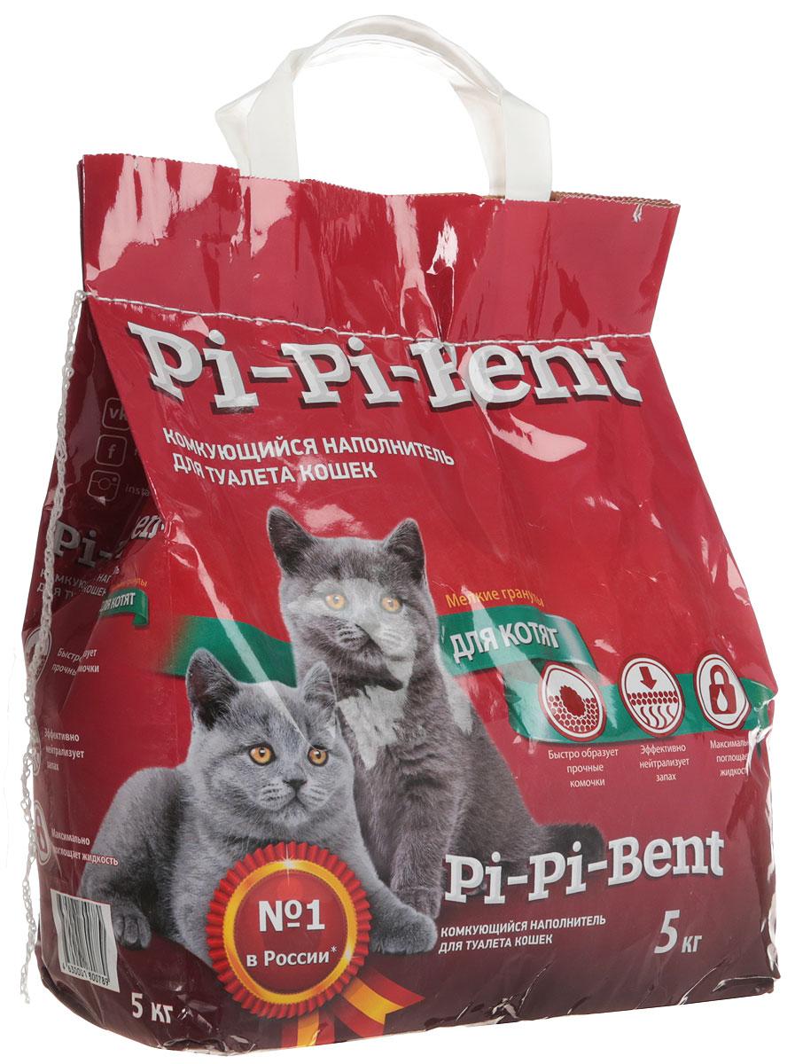 Наполнитель для кошачьего туалета Pi-Pi-Bent, комкующийся, 5 кг купить orange pi в москве