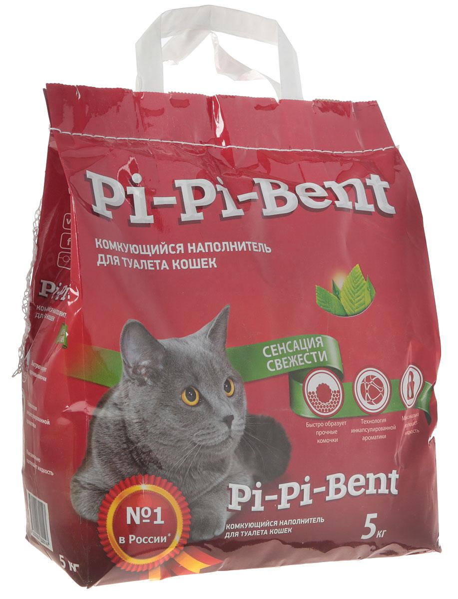 Наполнитель для кошачьего туалета Pi-Pi-Bent