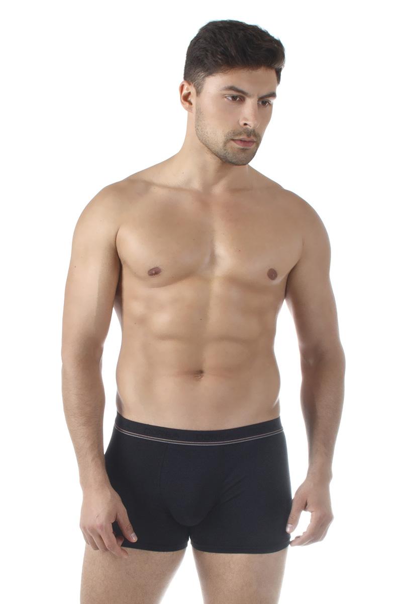 Трусы-боксеры мужские Dorea, цвет: черный. 5004. Размер XL (50/52)
