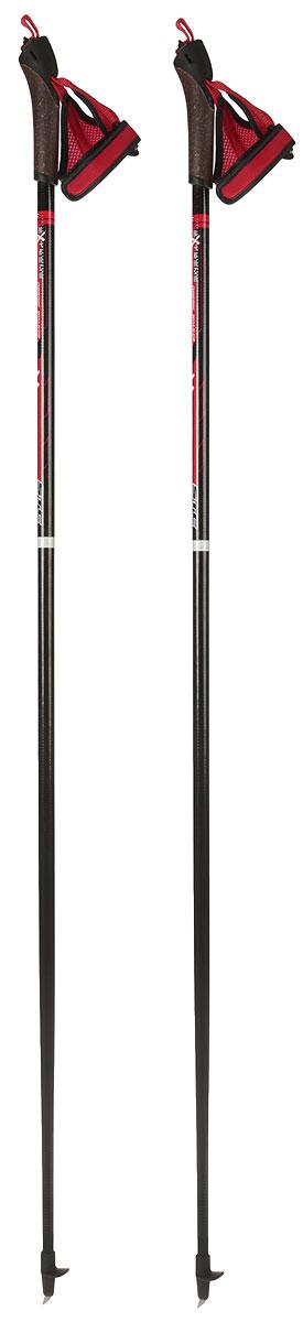 Палки для скандинавской ходьбы STC  EXTREME , цвет: черный, красный, длина 120 см - Скандинавская ходьба