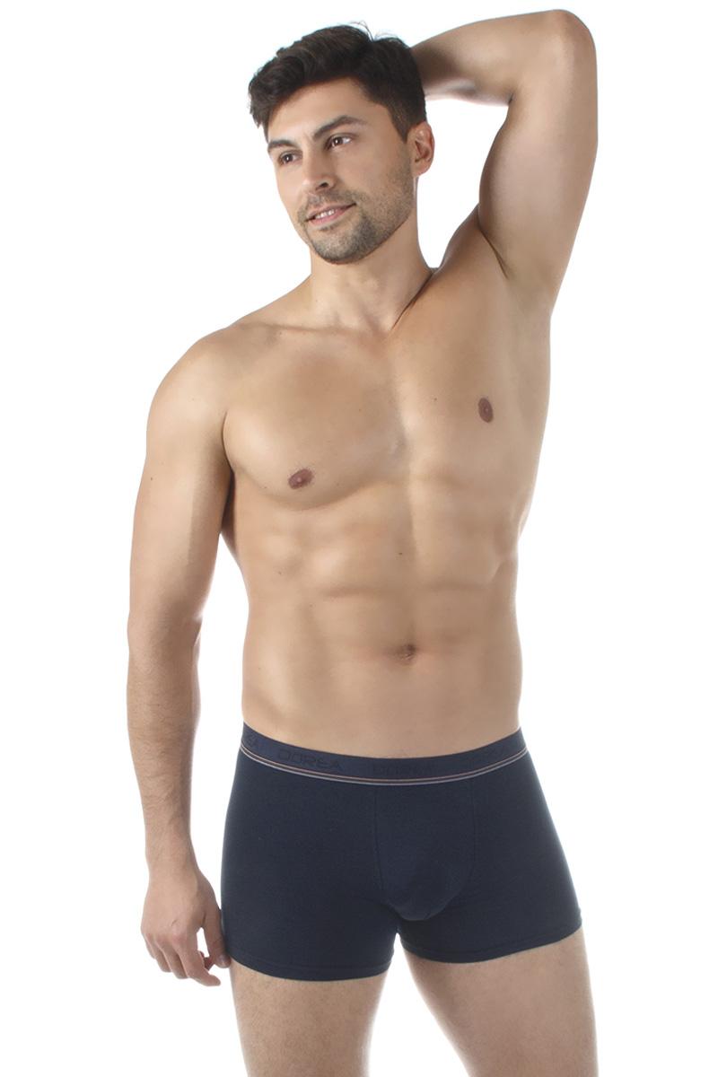 Трусы-боксеры мужские Dorea, цвет: синий. 5004. Размер XL (50/52) все цены