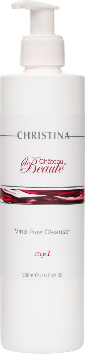 Christina Chateau De Beaute Vino Pure Cleanser - Очищающий гель 300 мл christina mp002xw0dqpw