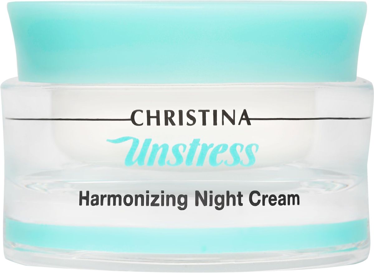 Christina Unstress Harmonizing Night Cream - Гармонизирующий ночной крем 50 мл regenerating night cream